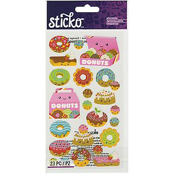 Sticko Classic Stickers-Donut Characters E5201249