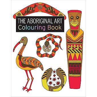 Search Press Books-The Aboriginal Art Coloring Book SP-21351