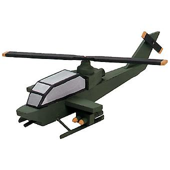 Wood Model Kit Attack Helicopter 9178 95