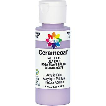 Ceramcoat Acrylic Paint 2 Ounces Pale Lilac Opaque 2000 2576