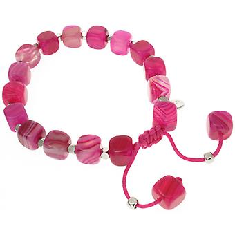 Lola Rose Justina Armband Pink persische Achat