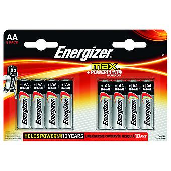 Energizer Max Power Seal LR6 (AA) (8 pcs)