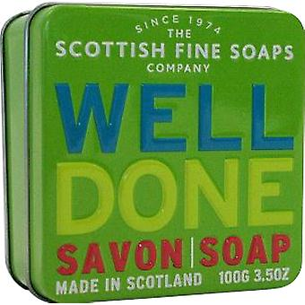 Scottish Fine Soaps Well Done Soap Tin