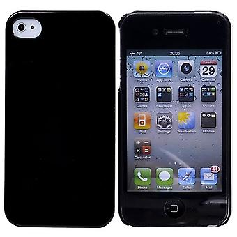 Thin layer in bright-hard plastic iPhone 4/4S (black)