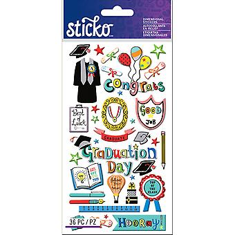 Sticko Stickers-Graduation E5245022
