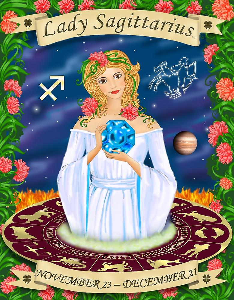 Sagittarius Poster Print by Sheila Kalisher (25 x 31)