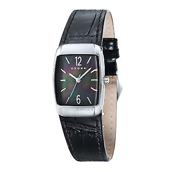 Krysse damer armbåndsur Arial analoge quartz leather CR9005-01