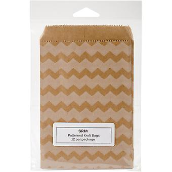 SRM Patterned Kraft Bags 4