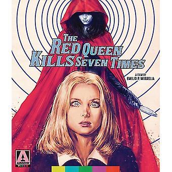 Red Queen dræber syv gange [Blu-ray] USA importerer