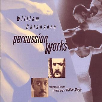 William Catanzaro - Percussion værker [CD] USA import