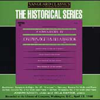 Bartok/Beethoven/Debussy - en Sonate betragtning af Joseph Szigeti & B La Bart K [CD] USA import