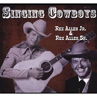 Rex Allen Jr - singenden Cowboys [CD] USA import
