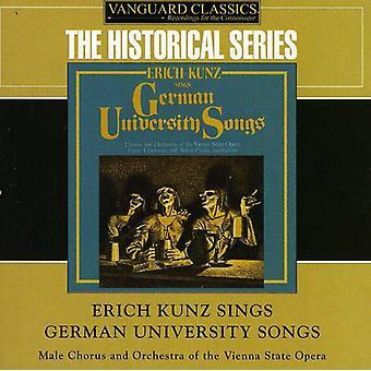 Erich Kunz - Erich Kunz synger tyske Universitet sange [CD] USA import