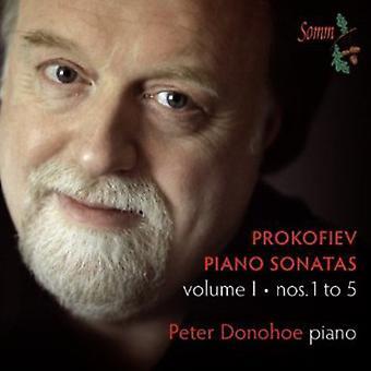 Prokofjev - Prokofiev: Klaversonater Vol. 1 [CD] USA import