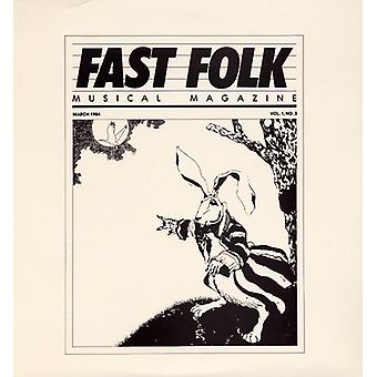 Fast Folk Musical Magazine - Vol. 1-Fast Folk Musical Magazine (3) [CD] USA import