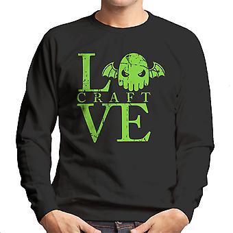 Älska Craft HP Lovecrafts Cthulhu Mäns tröja