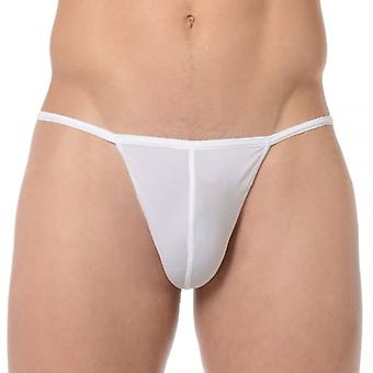 HOM Plume G-String, White, X-Large