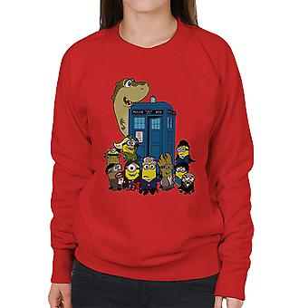 Dr die Doc Minion 12 en maatjes vrouwen Sweatshirt