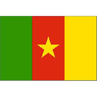 Cameroon Flag 5ft x 3ft With Eyelets For Hanging