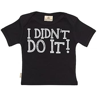 Spoilt Rotten I Didn't Do It! Short Sleeve Baby T-Shirt