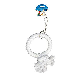 Duvo+ Parrot Toy Rope 1-Ring 17 Cm (Birds , Toys)