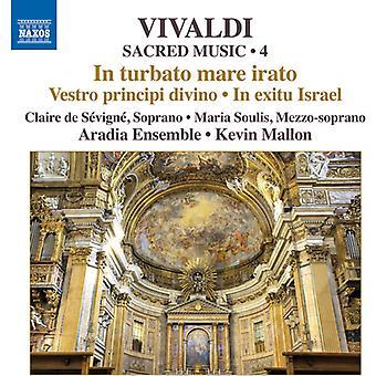 Vivaldi / Aradia Ensemble / Kevin Mallon - musique sacrée 4 [CD] USA import