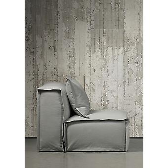Concrete Wallpaper by Piet Boon CON-06 900 x 48.7 cm 1 Roll Non-Woven Back Wallpaper, Grey