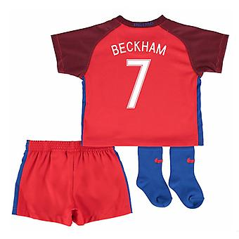 2016-17 England Away Baby Kit (Beckham 7)