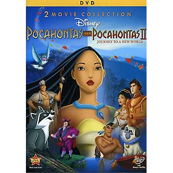 Pocahontas/Pocahontas-Journey to a New World [DVD] USA import