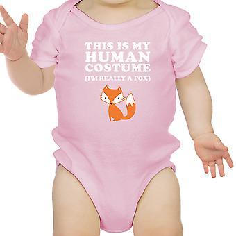 Dies ist meine menschliche Kostüm Halloween Bodysuit Funny Baby Babybody
