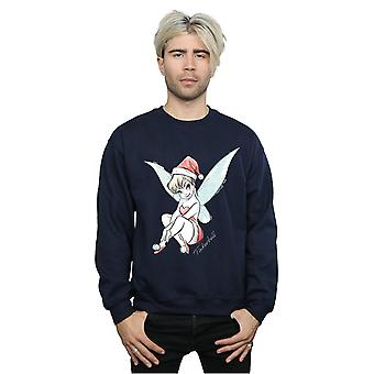 Disney Men's Tinkerbell Christmas Fairy Sweatshirt
