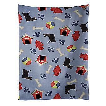 Hund House samling Skotsk Terrier køkkenrulle