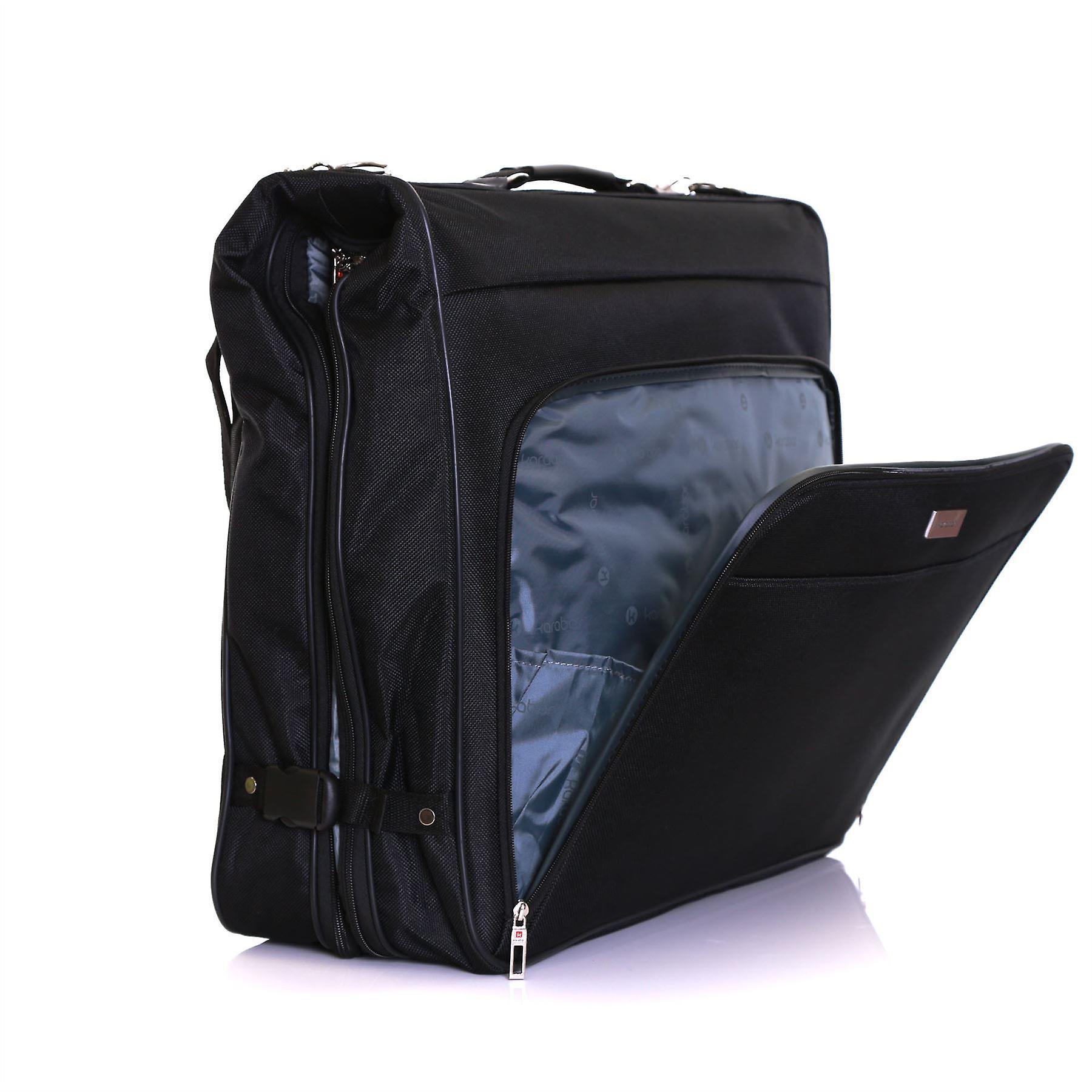 Karabar Potton Suit/Garment Carrier, Black