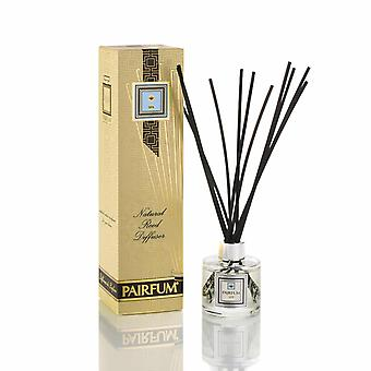 Natural Reed Diffuser - Long-lasting & Healthy - Beautiful Perfumes that Compliment You - Fragrances for 3 - 5 months (100 ml) - by PAIRFUM - Perfume: SPA - For Men - with Black Reeds