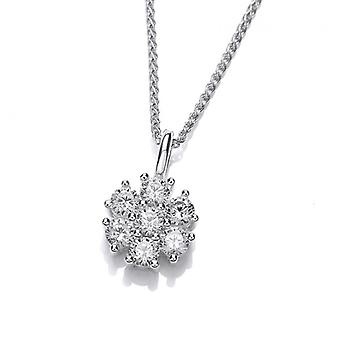 Cavendish French CZ Cluster Pendant without Chain