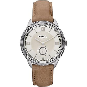 Fossil Ladies Watch ES3066 Sydney With Brown Leather Strap ES3066