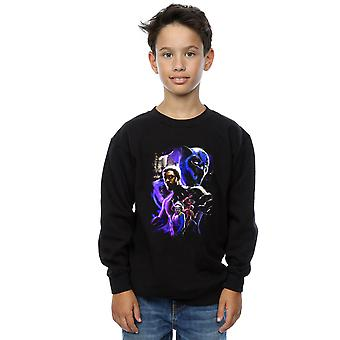 Marvel Boys Black Panther Charakter Montage Sweatshirt