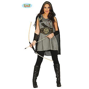 Hunter Archer forest woman costume ladies size M