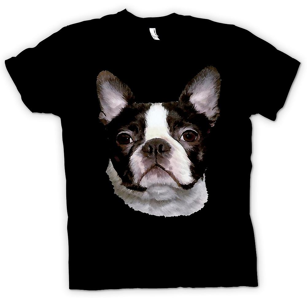 Mens T-shirt - Boston Terrier Pet - Dog