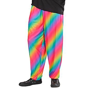 80s Baggy Pants - Rainbow