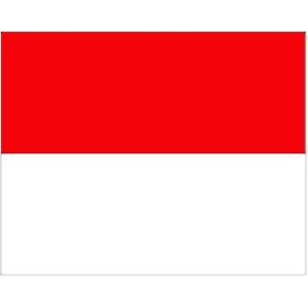 Monaco Flag 5ft x 3ft With Eyelets For Hanging