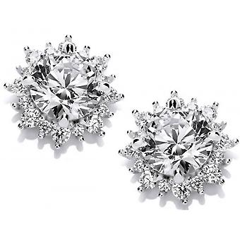 Cavendish French Sun Goddess Earrings - Silver