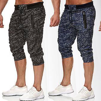 Men's sweatpants short sport Bermuda pants stretch waistband Jogger sweat Pant-mix