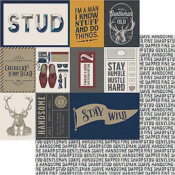 Man Card Double-Sided Cardstock 12