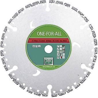 Why one for all Heller 28679 4 Diameter 125 mm Inside diameter 22.23 mm 1 pc(s)