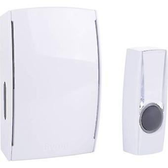 Byron BY501E Wireless door chime Complete set backlit, incl. nameplate