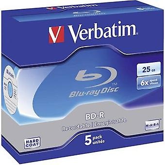 Blank Blu-ray BD-R 25 GB Verbatim 43715 5 pc(s) Je