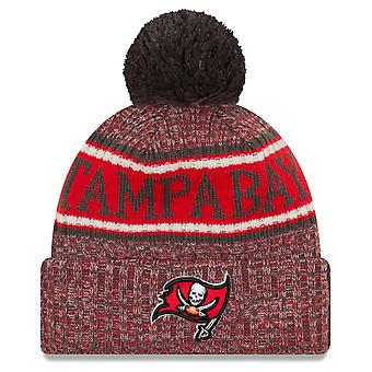 Nowa era NFL linii bocznej odwrócić Hat - Tampa Bay Buccaneers