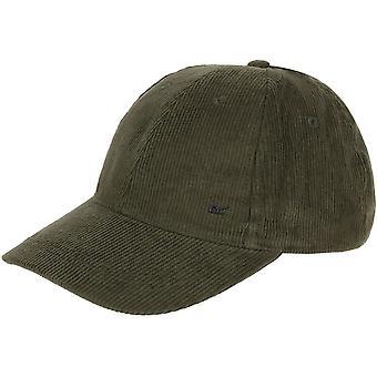 Regatta Mens Cadell Adjustable Coolweave Cotton Corduroy Baseball Cap