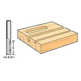 Trend C008 X 1/4 Hartmetall zwei Flute 6,3 mm